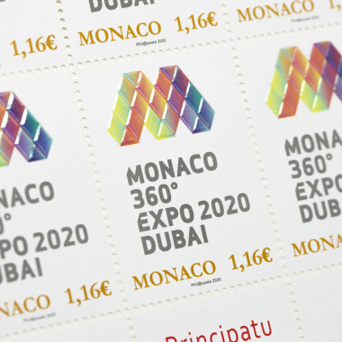 Official stamp Expo 2020...
