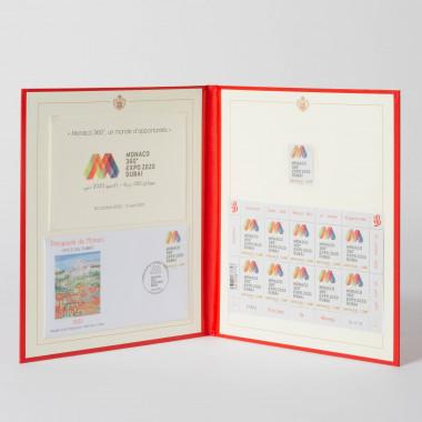 Coffret de timbres Pavillon...