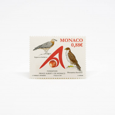 Official stamp Monaco...